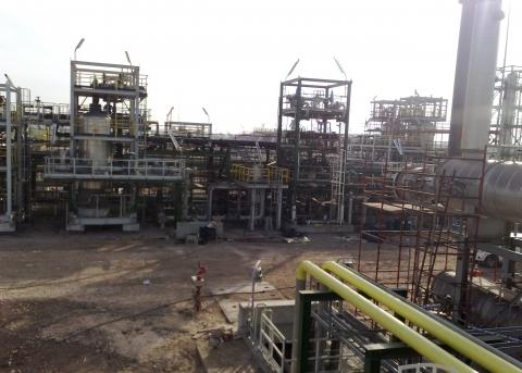 West Dikirnis Refrigeration Phase II. Egypt 2012