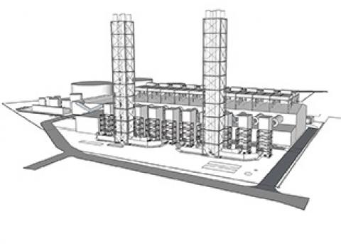 CAYMAN - Diesel Power Plant