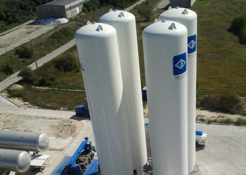 Air Separation Plant. Bulgaria 2013